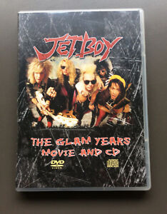JETBOY-The-Glam-Years-Movie-And-CD-CD-amp-DVD-Combo-Like-NEW-Glam-Rock-Sam-Yaffa
