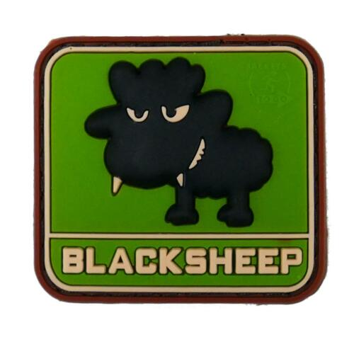 Little Black Sheep Multicam Airsoft Pvc Moral Patch Paintball Cadet