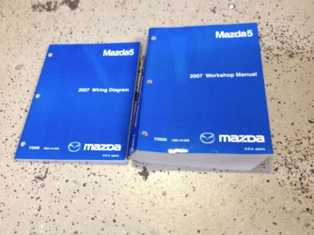 2007 Mazda 5 Mazda5 Service Repair Shop Workshop Manual