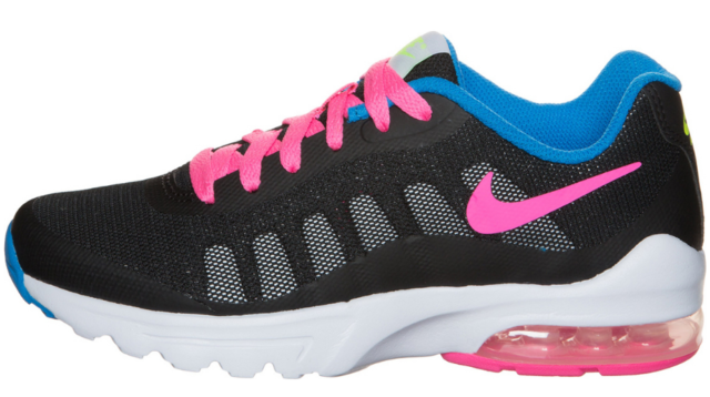Nike Air Max Invigor GS Big Kids Running Shoes Sports blackpinkblue 749575 001