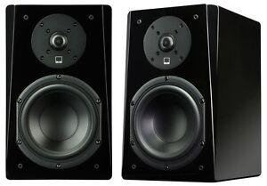 Image Is Loading SVS Prime Bookshelf Speakers Piano Black Audiophile 150