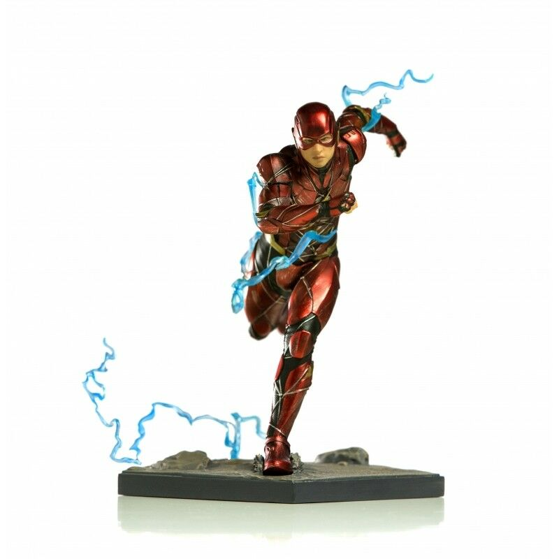 1 10 Justice League The Flash-IS300966-Iron Studios modèle-NEUF