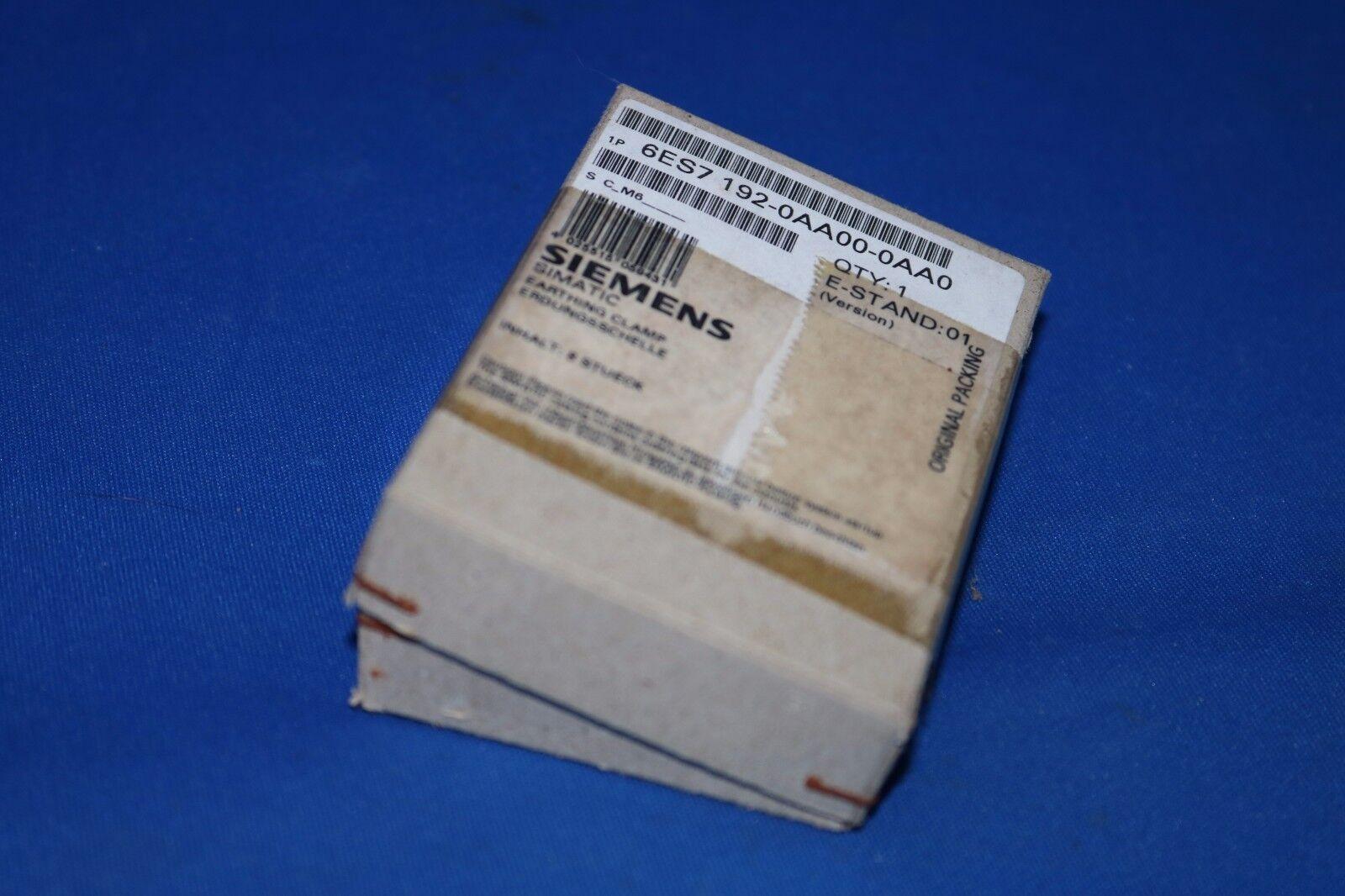 6ES7192-0AA00-0AA0 SHIELD TERMINAL F. ET200L-SC 8PCS 4..6 mm SHIELD DIAMETER