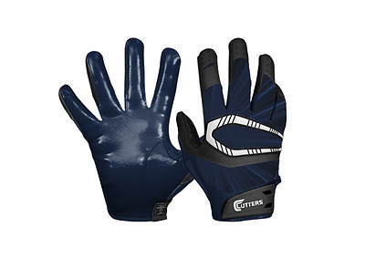 Cutters S450 REV PRO Football Receiver Gloves NEW Red Adult Sizes