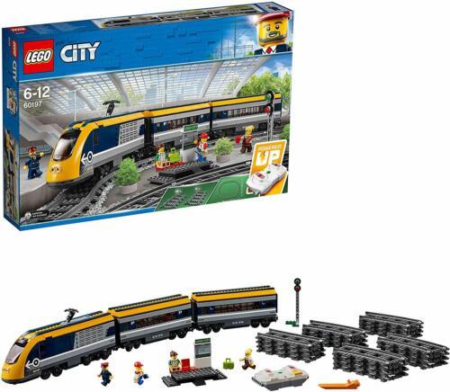 LEGO 60197 City Treno passeggeri Nuovo // Sigillato Costruzione Passeggeri