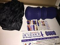Acuback Heatable Posture Support With Strap By Dr. Cohen