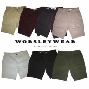 Ex-N3xt-Chinos-amp-Cargo-Shorts-for-Men-100-Cotton