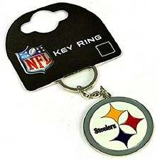 NFL FOOTBALL Pittsburgh Steelers metallo PORTACHIAVI KEYRING