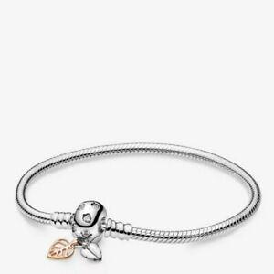 Details about Genuine Sterling Silver Bracelet Charm Style Pandora 925  Jewellery UK 1st Class