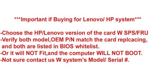 New Lenovo 20200617 Dual Wireless-AC 7260 7260NGW abgn+ac BT 4 PCIe NGFF