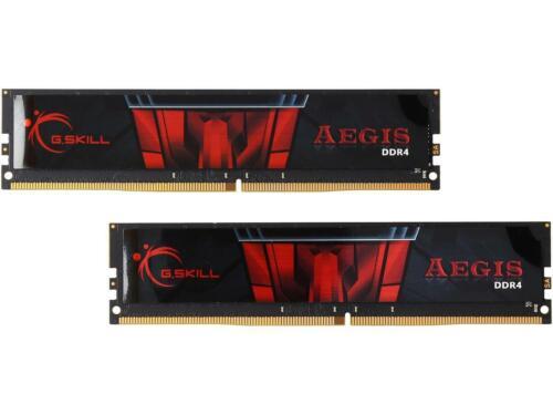 G.SKILL Aegis 16GB 288-Pin DDR4 SDRAM DDR4 2400 2 x 8GB PC4 19200 Desktop Me