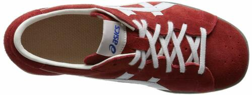 NEW ASICS Weight Lifting Shoes 727 Red White Leather from Japan F//S