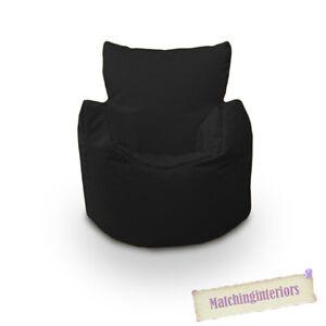Schwarz Bohne Sessel Kinder Kinder Spritzwassergeschützt Innen Außen ...