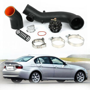 Air Intake Turbo Pipe Cooling Kit with 50mm BOV Compatible with 2007 2008 2009 2010 BMW N54 E90 E92 135i 335i 335