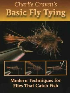 Charlie-Craven-039-s-Basic-Fly-Tying-Hardcover-by-Craven-Charlie-Brand-New-Fr
