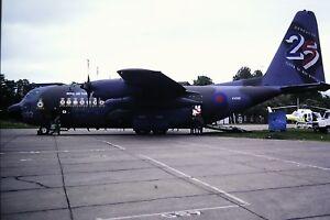 2-235-2-Lockheed-c-130K-Hercules-C-1-C-N-382-4257-RAF-ZE292-Kodachrome-SLIDE