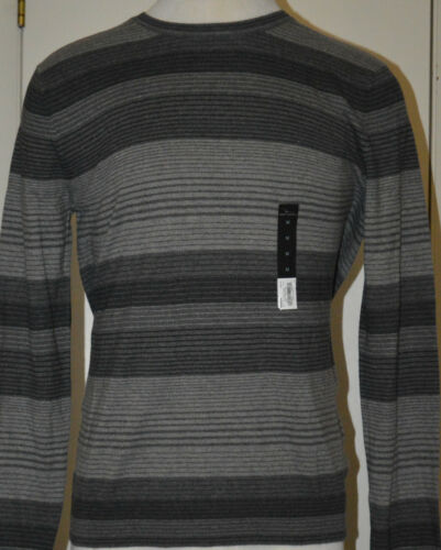 XL 2XL Men/'s Marc Anthony Gray Stripe Pullover Cashmere Blend Sweater M L