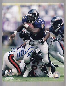 Terry-Allen-Autographed-8x10-SCH-Authentic-17111-W-29-Baltimore-Ravens