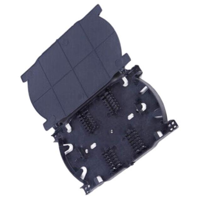 2PCS NEW Fiber Optic Splice Tray Fiber Optic Terminal Box 12 Cores new