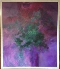 """Original Oil On Canvas Abstract Painting By John O Thomson """"Second Chance"""" 1994"""