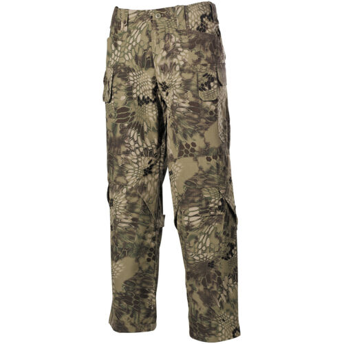 Mfh Tactical Mission Combat Mens Trousers Nyco Ripstop Hunting Pants Snake Fg