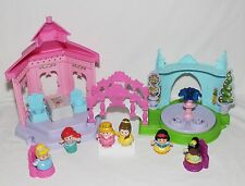 Fisher Price Little People Disney Princess Garden Tea Party Ariel Tiana MORE
