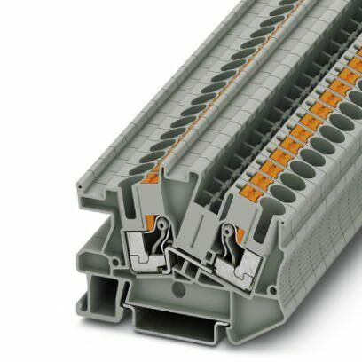 10 Stück PHOENIX Reihenklemme 3213972  Installationsklemme PTI 6