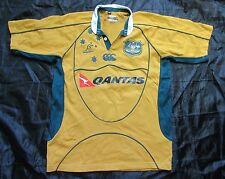 WALLABIES Australia RUGBY home jersey shirt CANTERBURY 2006-2007 adult SIZE S