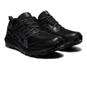 Asics Homme Gel Trabuco 9 Gore-Tex Trail Chaussures De Course Baskets Noir