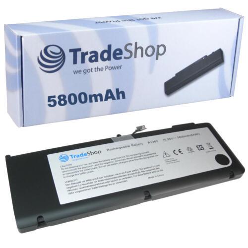 late 2011 Tradeshop BATTERIA 5800mah per Apple MacBook Pro 15.4 Core i7 md318ll//a