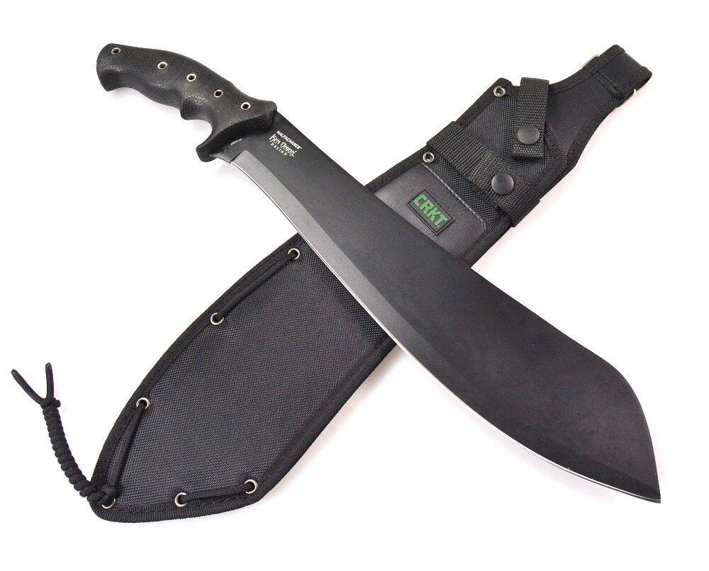 CRKT halfachance PARANG machette Couperet couteau escamotable 02cr920kkp 02cr920kkp 02cr920kkp Black 130544
