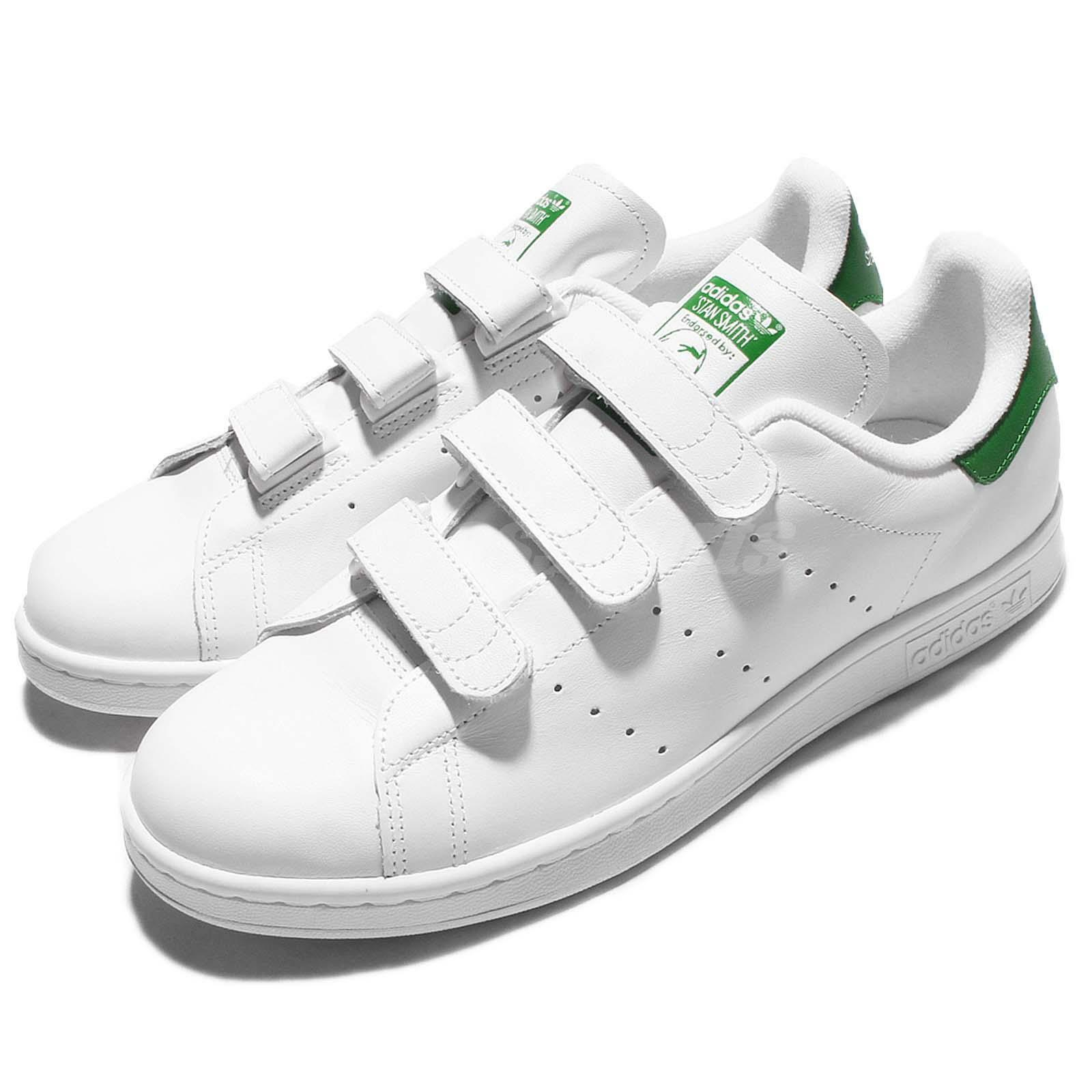 adidas Originals Stan Smith CF Blanc Vert Homme Srap Chaussures Sneakers S75187