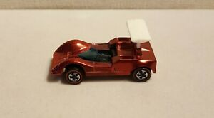 VINTAGE-HOT-WHEELS-REDLINE-Hong-Kong-Chaparral-2G-red-c1968-clean