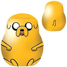 Official Adventure Time Jake Ceramic Cookie Jar - Yellow Character Finn Boxed