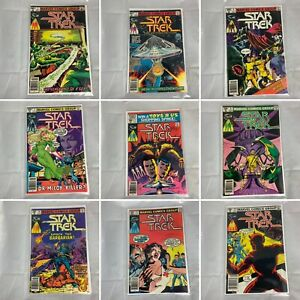 (Lot Of 11) Star Trek The Motion Picture No. 2, 3, 4, 5, 7, 8, 10, 13, 15, 16