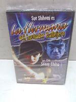 La Hermana Del Luchador Callejero Dvd Sealed Sue Shihomi Sonny Chiba