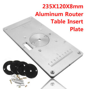 235 x 120 x 8mm aluminum router table insert plate insert ring image is loading 235 x 120 x 8mm aluminum router table keyboard keysfo Image collections