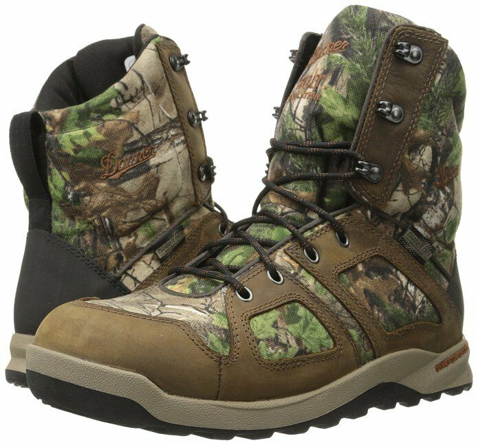 New in Box Mens Steadfast 8 Inch 800G Hunting Boot Realtree Extra 9.5 EE 48067