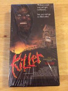 NEW-Killer-1989-VHS-Horror-OOP-Rare-Duke-Ernsberger-Electro-Video-T-amp-T-Entertai