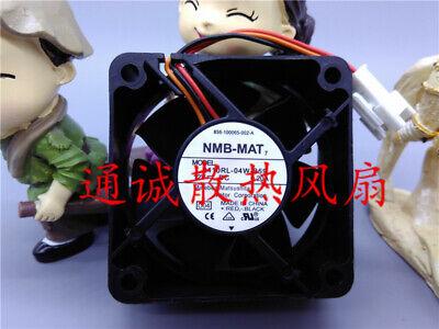 NMB-MAT 2410RL-04W-S29 12V 0.10A 6cm 3-wire TV Mute Fan