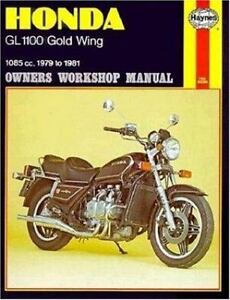 owners workshop manual honda gl 1100 gold wing 1085cc 1979 to rh ebay com 1983 honda goldwing owners manual 1983 honda goldwing 1100 service manual