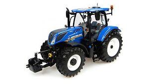 Tracteur Universal Hobbies New Holland T7.225 (2015). Maquette échelle 1:32. Uh4893 3539184893001