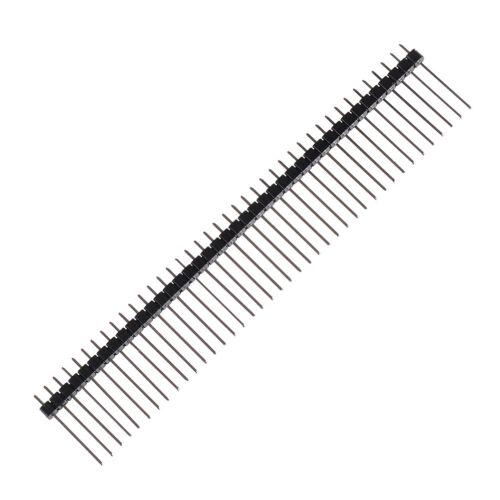 10PCS Single Row 1*40 40Pin 2.54mm 1X40 19mm Height Long Breakable Pin Header S/&