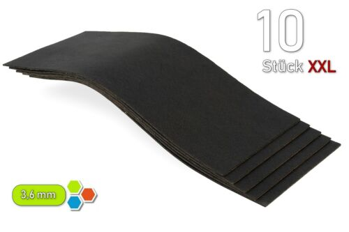 10 bitumematten XXL 500 x 200 x 3,6mm//1m² contra rechinaban las piezas de chapa-bx3609