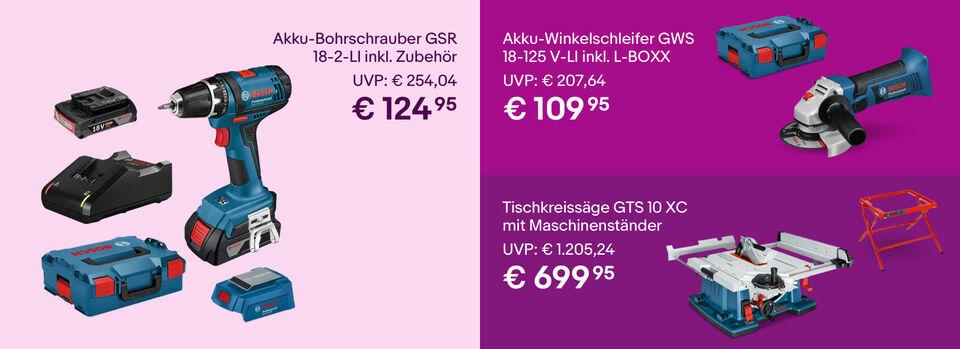 Bosch mit bis zu -50%* – Zur Aktion - Bosch mit bis zu -50%*