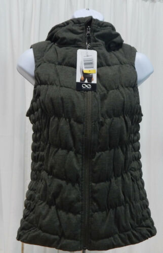 NWT Women/'s BE By Blanc Stretch Hooded Vest Full Zipper Variety!