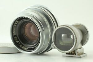 EXC-5-CANON-35mm-f-2-8-Objektiv-35mm-Finder-l39-LTM-Leica-Screw-Mount-Japan-827h