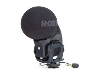 Rode-Stereo-VideoMic-PRO-Rycote-Microfono-R-DE-garanzia-Nital-Italia