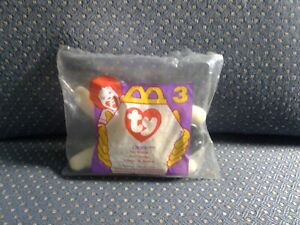 McDonald's 1996 Teenie TY Beanie Babies NWT   Chops
