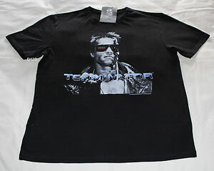 The-Terminator-Movie-Mens-Black-Printed-Short-Sleeve-T-Shirt-Size-XXL-New